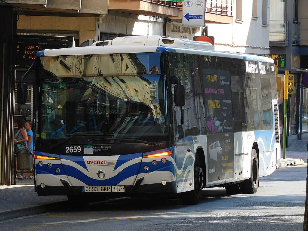 Het Spaanse openbaarvervoer